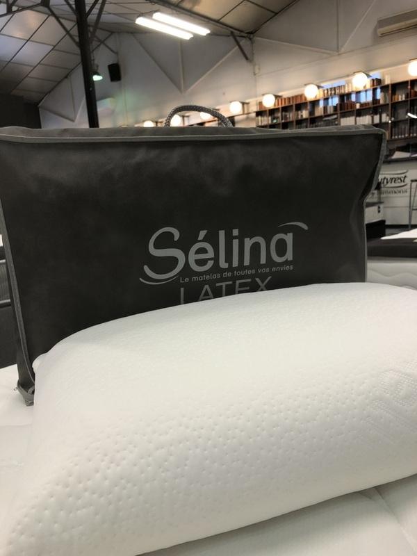 Oreiller SELINA Latex 60x40